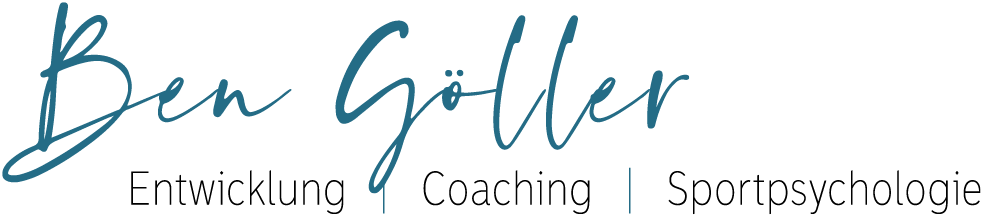 Logo - Ben Göller - Coaching Sportpsychologie Entwicklung