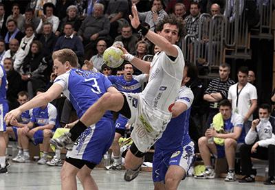 Handball Aktion - Ben Göller Sportler
