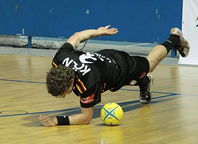 Ben Göller Sportler - Handball Training