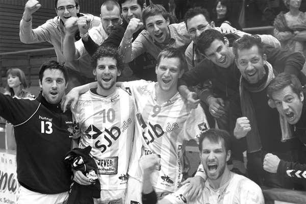 Ben Göller Sportler - Handball Team Jubel