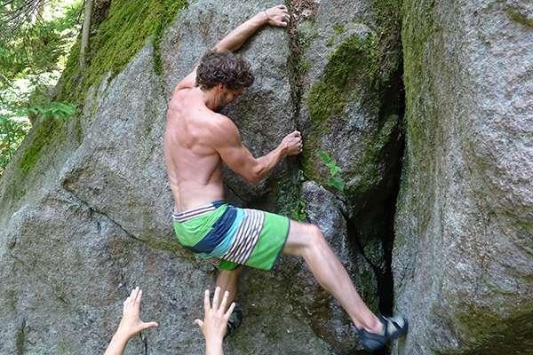 Ben Göller Sportler - Klettern